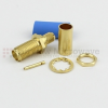 SMA Female Bulkhead Connector Crimp/Solder Attachment For RG58 Cable -- SC7072 -Image