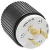 20A Electrical Plug: locking, 250VAC, NEMA L6-20 -- 70620NP