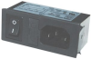 CONNECTOR, POWER ENTRY, PLUG, 6A -- 17B7289