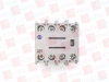 ALLEN BRADLEY 100-FA31 ( AUXILIARY CONTACT BLOCK, 10AMP, 3NO/1NC, FRONT MOUNT ) -- View Larger Image