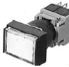 Illuminated Pushbutton Switch With Flush Rectangular Head -- AH164-TL, TL5