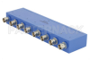 8 Way BNC Power Divider From 2 MHz to 500 MHz Rated at 1 Watt -- PE2002 -Image