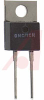 Resistor;Thick Film;Res 33 Ohms;Pwr-Rtg35 W;Tol 5%;Radial;TO-220;Heat Sink -- 70022344
