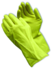 PIP 48-G12YPR Chemical Resistant Unsupported Latex Glove -MD -- 501023-99779