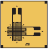 Biaxial Strain Gage for Axial Strain -- SGD-3/120-XY41