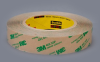 3M 468MP Adhesive Transfer Tape Clear 0.5 in x 60 yd Roll -- 468MP 1/2 X 60 -Image