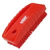 nail brush w/stiff bristle red -- 61581 -- View Larger Image