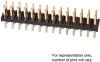 Rectangular Connectors - Headers, Male Pins -- 2164S-36-ND -- View Larger Image