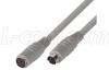 Molded Extension Cable, Mini DIN 6 Male / Female, 25.0 ft -- DK226MF-25