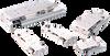 Compact Rail Thruster Pneumatic Slide, Series STP