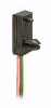 SR13 Series Hall-Effect Digital Position Sensor; Snap-in Housing; Sinking Output; latching magnetics; 3.8 to 30 Vdc supply voltage -- SR13R-A1