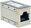 Cat5e Straight Through Modular Shielded In-Line Coupler (RJ45 F/F) -- N032-001 - Image