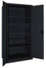 Heavy-Duty All-Welded Storage Cabinets - Economy Industrial - QSC-362478