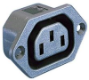 CONNECTOR, POWER ENTRY, RECEPTACLE, 10A -- 92C5301
