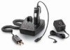 Plantronics CA12CD Cordless Push to talk (DECT 1.92 GHz) wireless mission-critical headset with plug prong adapter