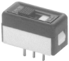 APEM - 25139NAB - SWITCH, SLIDE, SPST, 4A, 250V, THD -- 298014 - Image