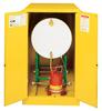 Justrite Sure-Grip EX Single Horizontal Drum Cabinets -- 4720 -- View Larger Image