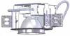 4000 Lumen LED - Recessed Downlight -- 6VLB