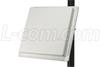 2.4 / 5.1-5.8 GHz 9dBi Flat Panel Antenna - N-Female Connector -- HG2458-09P