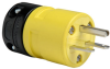 Rubber Housing Plug, Yellow -- 1449 -- View Larger Image