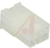 Connector, Soft Shell; Nylon; Natural; Wire-to-Wire and Wire-to-Board; 6 -- 70083368 - Image