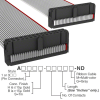 Rectangular Cable Assemblies -- A3DDB-3006G-ND -Image