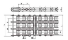 Roller Chain With Straight Side Plates(A Series) - Image