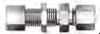 DIN Bite Type Tube Fitting - DBHU Bulkhead Union - Image