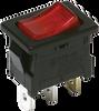 Miniature Single Pole Rocker Switches -- DA Series