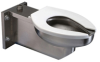 Z5680 Extra Heavy-Duty Stainless Steel Wall Hung Toilet -- Z5680 -Image