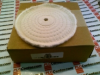 BUFFING WHEEL COTTON 6INCH W/1/2INCH BORE -- A65
