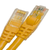 CAT5E 350 MHZ ETHERNET PATCH CORD YELLOW 1FT -- 26-256-12 - Image
