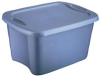 Stack and Nest Industrial Tote -- T9H603168BL - Image
