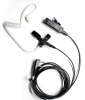M-303 Clear acoustic tube with Two-wire Ear-mic.2.5mm/3.5mm right angle overmolded connector fit Mot -- M-303