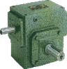 Casting Iron Worm reducers Inch Dimension -- Series UY - Image