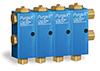 Air Operated Purgex for Liquid, All Liquid Contact Seals Viton, 4 Feeds -- B3162-204