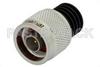 5 Watt RF Load Up to 18 GHz With N Male Input Black Anodized Aluminum Heatsink -- PE6097 -Image