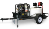 Shark Commercial 3500 PSI Trailer Pressure Washer -- Model TRS-2500-D