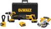 DEWALT 18V XRP Cordless 4-Tool Combo Kit -- Model# DCK450X