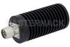 50 Watt RF Load Up to 3 GHz With N Male Input Round Body Black Anodized Aluminum Heatsink -- PE6189 -Image