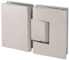 Shower Door Hinges, 180 Degree, Glass to Glass -- 755014