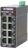 4 Port 10/100BaseTX Ethernet PoE Midspan Power Injector -- 100-POE4 - Image