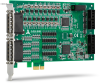 High-density 128-CH Isolated DIO/DI/DO Cards -- PCIe-7442