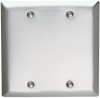 Blank Plates -- Box Mounted, Two Gang -- SS23 - Image