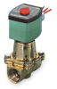 Cryogenic Solenoid Valve,1/2 In,Brass -- 2HTN1