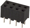 Rectangular Connectors - Headers, Receptacles, Female Sockets -- H10893-ND -Image