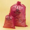 Biohazard Disposal Bags - Orange-Red -- BA131643138 -- View Larger Image