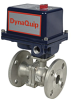 Electrically Actuated 2 PC Stainless Steel Ball Valve -- EHS FL Series