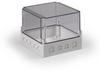 Polycarbonate Electrical Enclosure -- SPCM181815T.U -Image