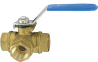 Quarter turn ball valve from Dwyer